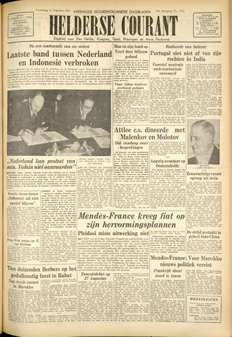 Heldersche Courant 1954-08-11