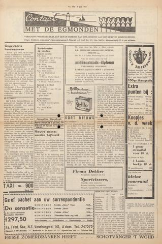 Contact met de Egmonden 1965-07-08