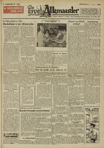 De Vrije Alkmaarder 1948-10-14