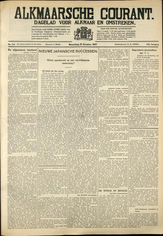 Alkmaarsche Courant 1937-10-18