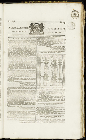 Alkmaarsche Courant 1836-04-11
