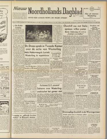 Nieuw Noordhollandsch Dagblad : voor Alkmaar en omgeving 1950-02-16