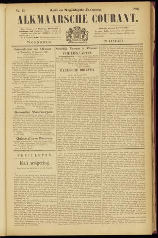 Alkmaarsche Courant 1896-01-29
