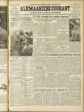 Alkmaarsche Courant 1955-10-06
