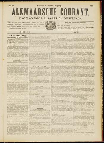 Alkmaarsche Courant 1910-06-14