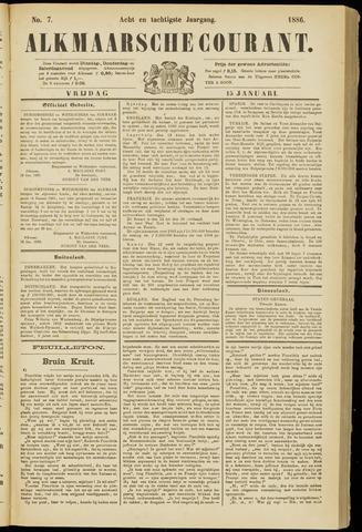 Alkmaarsche Courant 1886-01-15