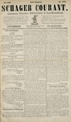 Schager Courant 1881-01-13