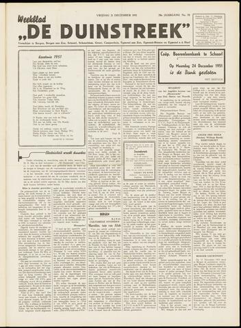 De Duinstreek 1951-12-21