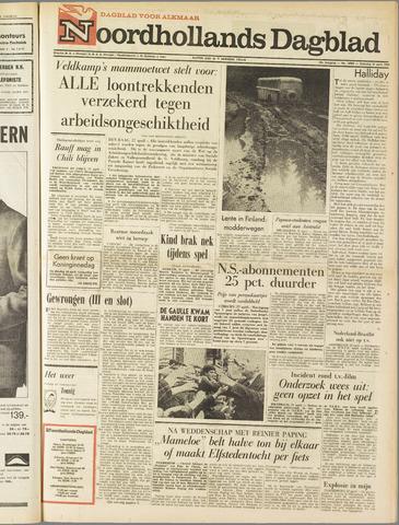Noordhollands Dagblad : dagblad voor Alkmaar en omgeving 1963-04-27