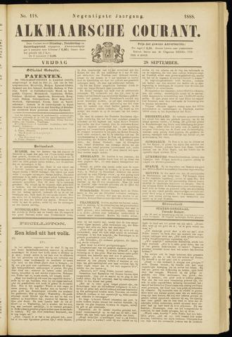 Alkmaarsche Courant 1888-09-28