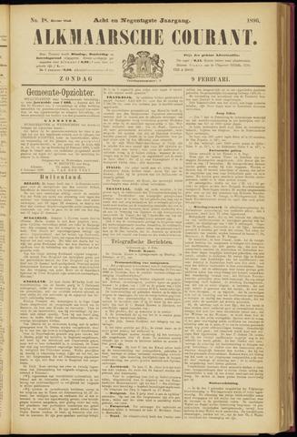 Alkmaarsche Courant 1896-02-09