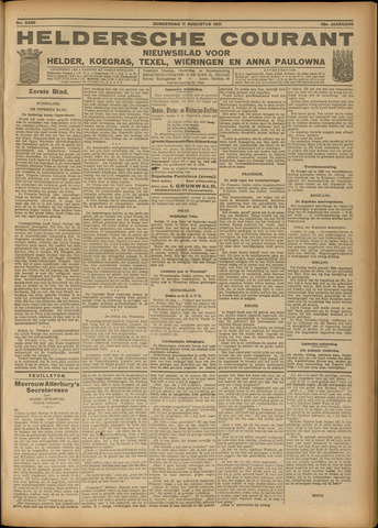 Heldersche Courant 1921-08-11