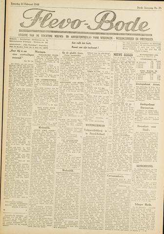 Flevo-bode: nieuwsblad voor Wieringen-Wieringermeer 1948-02-28