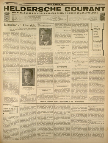 Heldersche Courant 1935-02-26