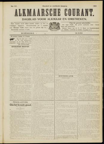 Alkmaarsche Courant 1912-06-12