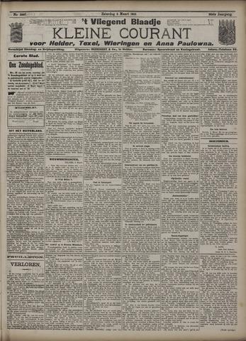 Vliegend blaadje : nieuws- en advertentiebode voor Den Helder 1910-03-05