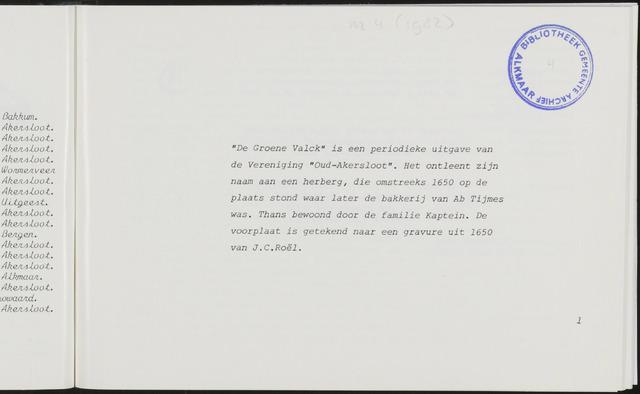 De Groene Valck 1982-09-01