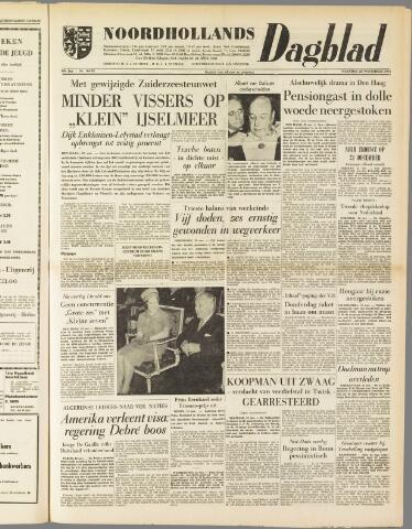 Noordhollands Dagblad : dagblad voor Alkmaar en omgeving 1959-11-23