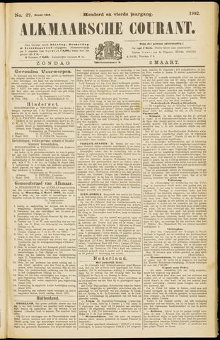 Alkmaarsche Courant 1902-03-02