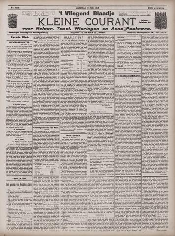 Vliegend blaadje : nieuws- en advertentiebode voor Den Helder 1913-07-12