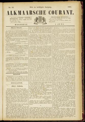 Alkmaarsche Courant 1881-06-01