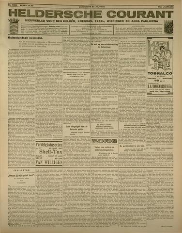 Heldersche Courant 1933-07-27