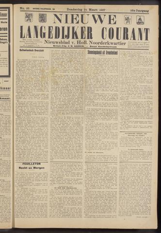 Nieuwe Langedijker Courant 1927-03-24