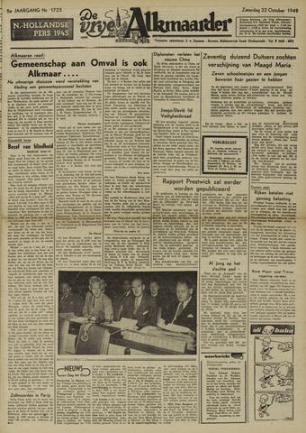 De Vrije Alkmaarder 1949-10-22