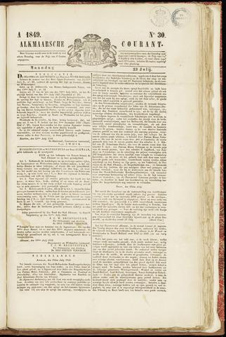 Alkmaarsche Courant 1849-07-23