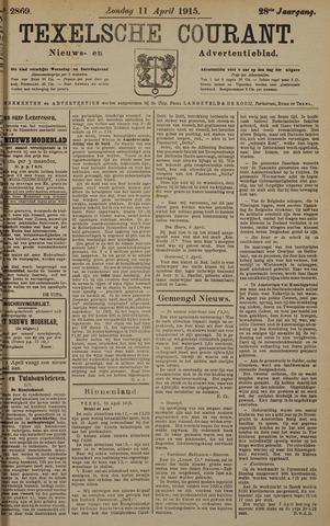 Texelsche Courant 1915-04-11