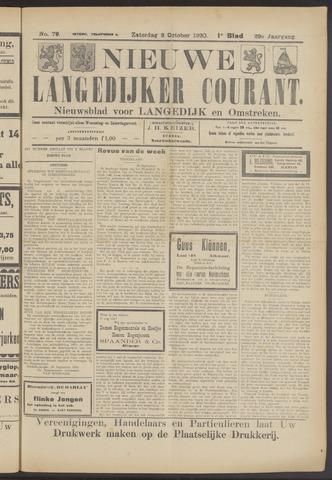 Nieuwe Langedijker Courant 1920-10-02