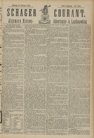 Schager Courant 1911-02-14