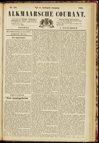 Alkmaarsche Courant 1883-11-04