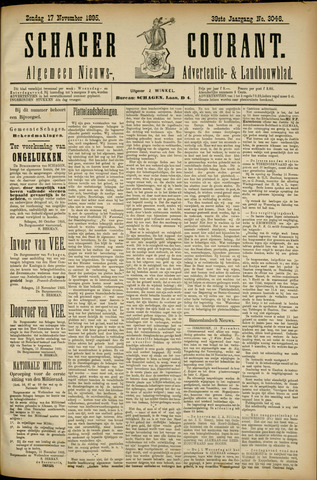 Schager Courant 1895-11-17