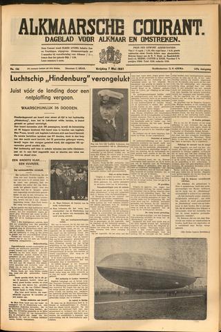 Alkmaarsche Courant 1937-05-07
