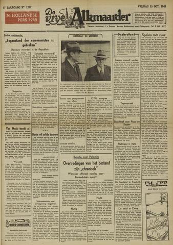 De Vrije Alkmaarder 1948-10-15