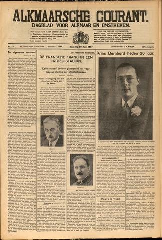 Alkmaarsche Courant 1937-06-29