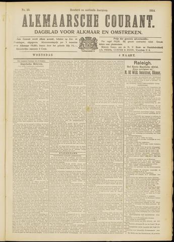 Alkmaarsche Courant 1914-03-04