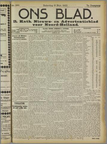 Ons Blad : katholiek nieuwsblad voor N-H 1913-11-08