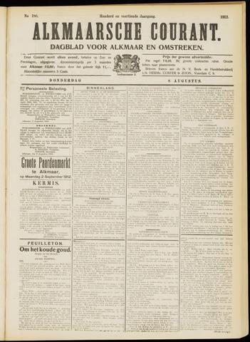 Alkmaarsche Courant 1912-08-08