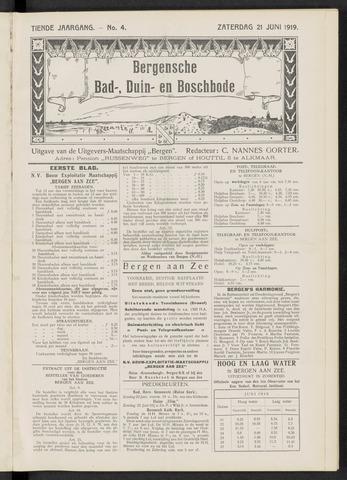 Bergensche bad-, duin- en boschbode 1919-06-21