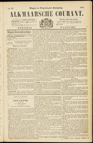 Alkmaarsche Courant 1897-01-27