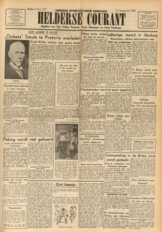 Heldersche Courant 1950-09-12