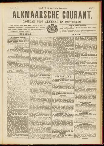 Alkmaarsche Courant 1907-06-18