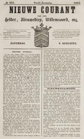 Nieuwe Courant van Den Helder 1864-08-06