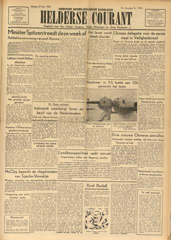 Heldersche Courant 1950-11-28