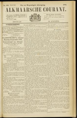 Alkmaarsche Courant 1894-08-26