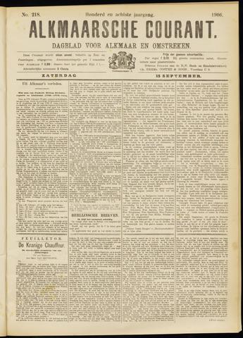 Alkmaarsche Courant 1906-09-15