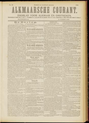 Alkmaarsche Courant 1915-02-11