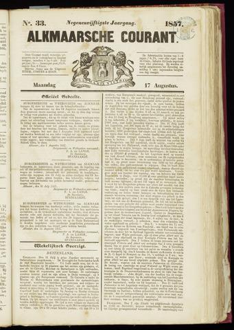 Alkmaarsche Courant 1857-08-17